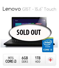 "Lenovo G15T - 15.6"" Touch Notebook"