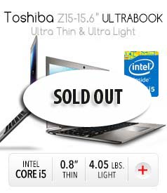 finance Toshiba Z15 15.6