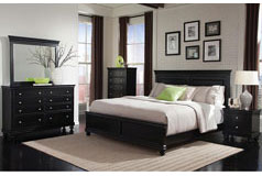 Bridgeport King 6 Piece Set in Black  - Click for more details