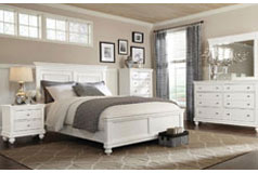Bridgeport King 6 Piece Set in White  - Click for more details