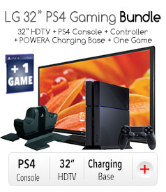 "LG 32"" PS4 Gaming Bundle"