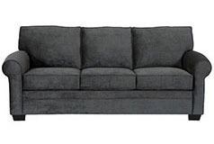 "Danton<span style=""background-color: #ffffff; text-decoration-style: initial; text-decoration-color: initial;""> Chenille Sofa  in Charcoal - Click for more details"
