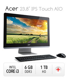 """Acer 23.8"""" IPS Touch AIO"""