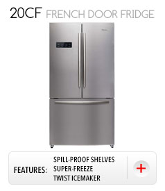 20CF FRENCH DOOR FRIDGE