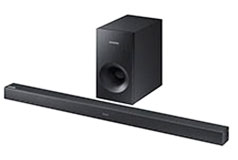 SAMSUNG 2.1CH 130W SOUNDBAR W/WIRELESS SUBWOOFER
