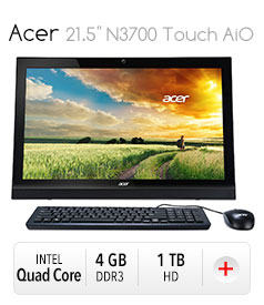 "Acer 21.5"" N3700 Touch AiO"