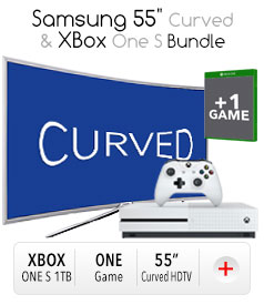 "Samsung 55"" Curved & Xbox Bundle"