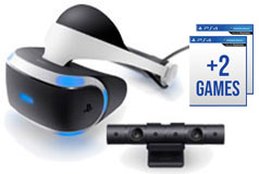 PlayStation VR Bundle   (Headset/ Camera/ Headphones/ 2 Games) - Click for more details