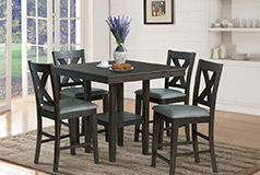 Victoria 5-Piece Counter-Height Dining Package - Click for more details