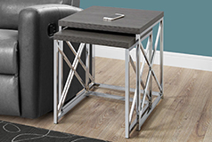 Henery 2 Piece End Table - Click for more details