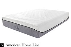 "The Supreme Hybrid 13"" Queen  Foam & Pocket Coil Mattress  Hypoallergenic Bamboo"
