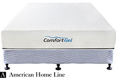 "Comfort Gel 10"" Queen Mattress  Set Includes: Mattress and 2-in-1 Bed & Box Spring - Click for more details"