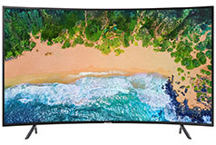 "Samsung 55"" 4K UHD LED Curved Tizen Smart TVNU7300 2018 Model - Click for more details"