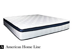 "Sleep Rest 13"" Comfort-Top Plush Queen Mattress - Click for more details"