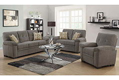 Fairbairn Living Room Set  Includes: Sofa, Loveseat & Chair  in Chenille by Coaster - Click for more details
