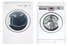 Blomberg Front Load Washer & Electric Dryer