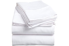 Spirit Premium Bed Sheets King Size in White - Click for more details