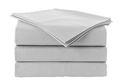 Spirit Premium King Size Bed Sheets in Grey - Click for more details