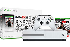 Xbox One S 1TB NBA 2K19 Bundle - Click for more details