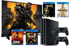 "Gamers Delight - Hisense 65"" 4K TV 2018 Model & PS4 Pro 1TB + 4 Games    - Click for more details"