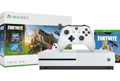 Xbox One S 1TB Fortnite Bundle - Click for more details