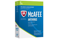 McAfee AntiVirus - Click for more details