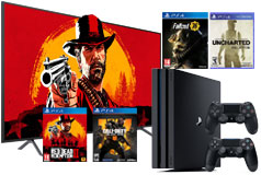 "Samsung 58"" 4K LED TV NU7100 2018 Model & PS4 Pro 1TB Bundle  - Click for more details"