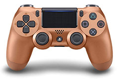 PS4 Dualshock 4 Wireless Controller - Bronze - Click for more details