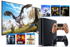 "Samsung 58"" 4K LED TV NU7100 2018 Model & PlayStation 4 Slim Bundle  - Click for more details"