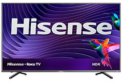 "Hisense 65"" 4K UHD HDR Smart Roku R6107 TV  - Click for more details"