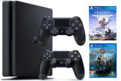 PlayStation 4 Slim 1 TB Bundle - Click for more details