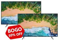 "Buy One Get One 50% OFF Samsung 43"" 4K Tizen TV NU7100 - Click for more details"