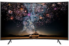"Samsung 65"" UHD HDR 4K Curved LED RU7300 Smart TV - Click for more details"
