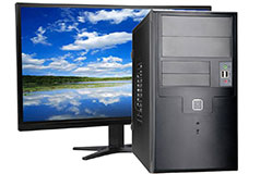 MDG Horizon AMD 200GE (8 GB RAM/ 1 TB HDD/ Windows 10)   - Click for more details