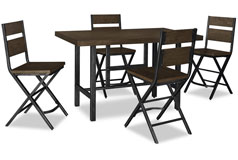 Kavara 5-Piece Counter-Height Dining Package - Click for more details
