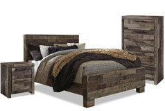 Derekson 5-Piece Queen Bedroom Package with Chest and Nightstand - Click for more details