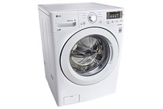 LG 5.2 cu.ft. Capacity Front Load Washer in White - Click for more details