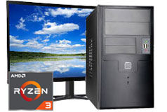 "MDG Vision R3 2200G (24""/Ryzen™ 3 2200G/8GB/1TB/Windows 10)  - Click for more details"