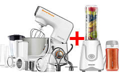 Sencor 3700WH Stand Mixer & Smoothie Maker Bundle  - Click for more details