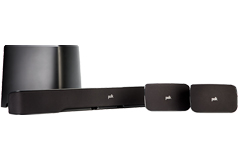 Polk Audio 5.1-Channel 260-Watt True Surround Sound System with Wireless Rear Speakers - Click for more details