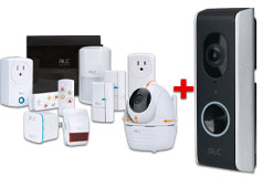 ALC Security System with Video Doorbell and a Wifi Repeater Bundle  - Click for more details