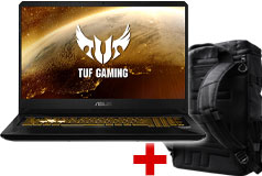 "Asus 17.3"" i7 Laptop ( 16GB / 512G SSD / Win 10 ) & TUF Gaming Backpack - Click for more details"