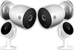 Aluratek Eco4Life 2 Outdoor & 2 Indoor Cameras