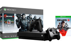 Xbox One X Gears 5 1TB Gaming Bundle - Click for more details