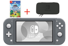 Nintendo Switch Lite - Grey Bundle - Click for more details