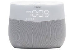 iHome iGV1 Google Assistant Built-In Bedside Speaker System - Click for more details
