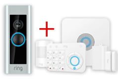 Ring 5 Piece Alarm & Ring Doorbell Pro Bundle - Click for more details