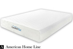 "California King 10"" Comfort gel Mattress - Click for more details"