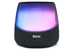iHome Rechargeable Color Changing Stereo Speaker with Speakerphone and Wireless Charging - Click for more details