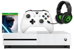 Xbox One S 1TB Star Wars Jedi: Fallen Order & PDP AG9+ Wireless Headset Bundle - Click for more details